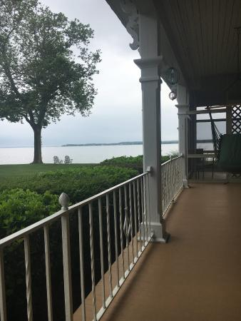 Sandaway Waterfront Lodging: View from my hammock chair.