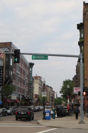 Image result for Boston North End Hanover and Cross Street
