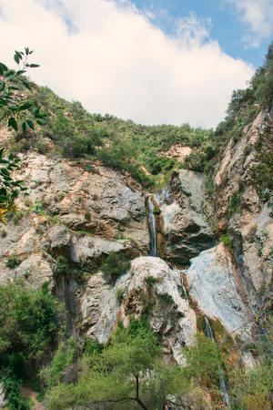 Azusa, Kalifornien: The water fall