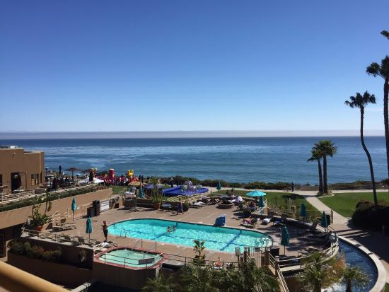 The Cliffs Resort: The view from our balcony