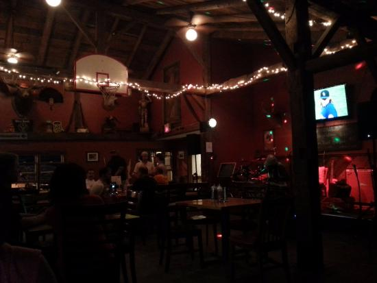 Localfolk Smokehouse: The restaurant is a converted barn