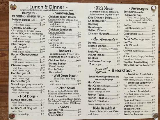 Wall Drug Store Cafe: photo0.jpg