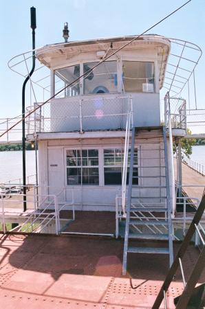 Keokuk, Iowa: Upper deck and bridge.