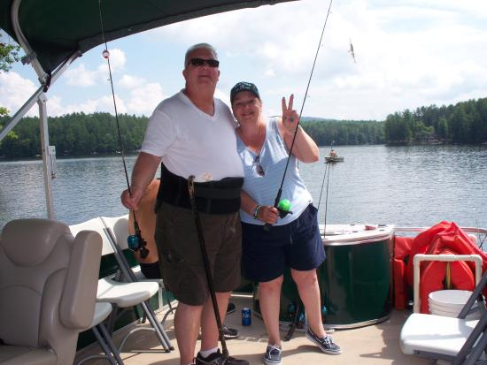 Warrensburg, NY: fishing daily on Sherman Lk!!
