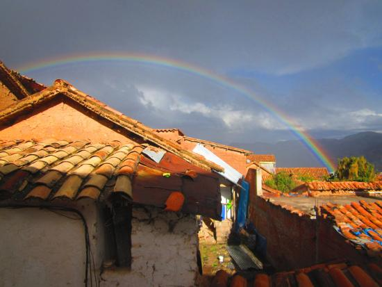 Casa de Mama Cusco 2-The Ecohouse: The view!