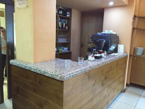 Hotel Quo Vadis: Sala breakfast