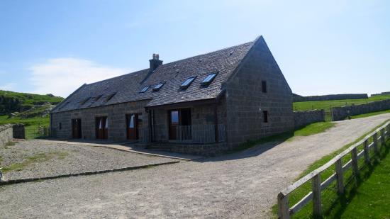 Hynish, UK: Front of house