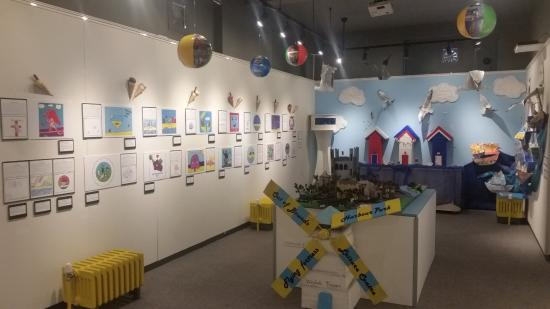 Littlehampton Museum: Display from the local schools