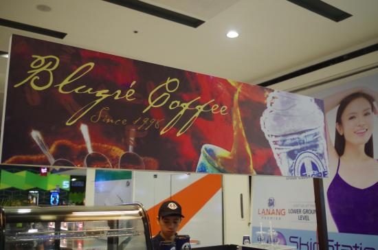 Blugre Coffee: at SM Lanang Cinema