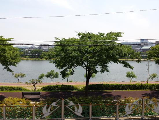 Jinju, Zuid-Korea: Aussicht