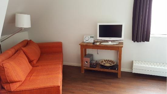 A Small Hotel: Sofa