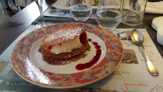 LA GRILLANDINE : Feuiilantine aux fruits rouges