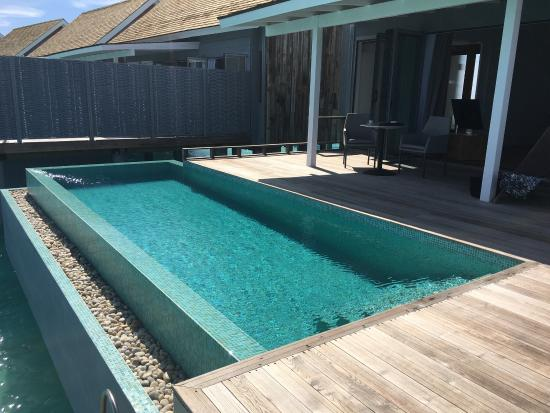 Sunset Water Villa With Pool Beautiful Picture Of Kuramathi