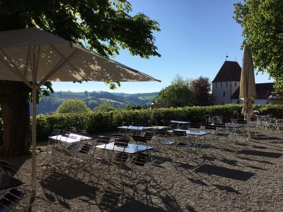Neuburg am Inn, Allemagne : La terrasse