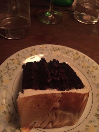 Pound Ridge, نيويورك: Chocolate cake