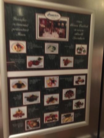 Balance Hotel Leipzig-Alte Messe: Pictorial menu's should be a clue no English spoken