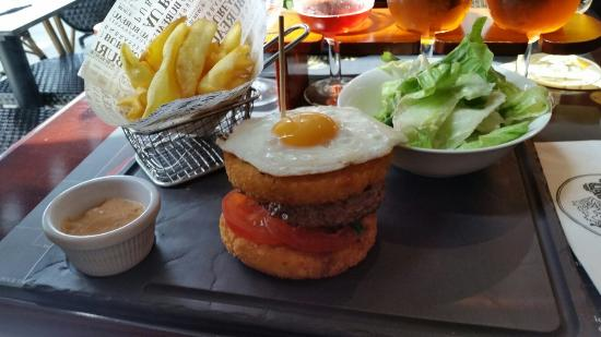 Royal potatoes burger Picture of Au Bureau Strasbourg TripAdvisor