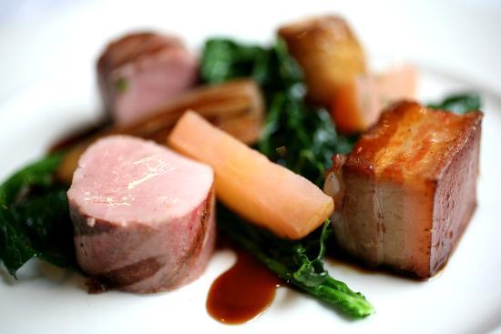 Crown at Woodbridge: pork tenderloin