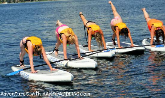 Barrie, Kanada: Sup Yoga