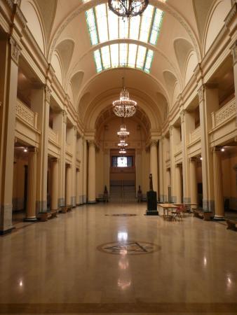 Guthrie, OK: Entrance hall