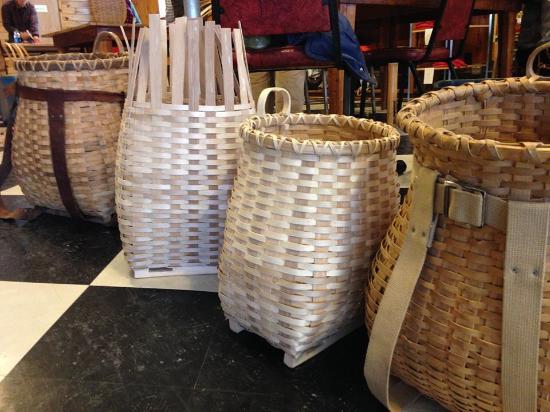 Ely, MN: Adirondack ash pack basket