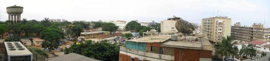 Vista dall'hotel Alvalade