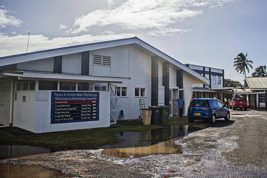Hospital Hill Lookout: Rarotonga Hospital