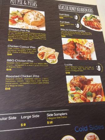 Kenny Rogers Restaurant Menu Singapore