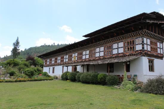 An excellent traditional place to start your Bhutan trip