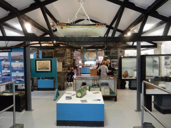 Porthmadog Maritime Museum: The interior of the museum.