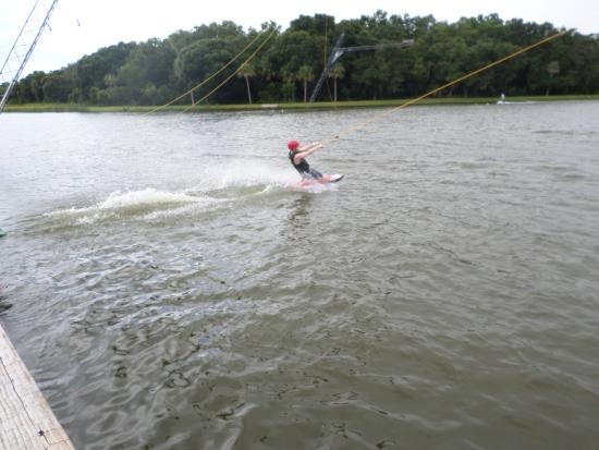 North Fort Myers, FL: Learn on the kneeboard, then switch to the wakeboard!