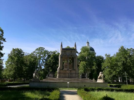 Varsovie : Wilanow museum palace