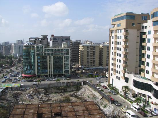 Hotel Intercontinental-Addis : Vista dall'hotel