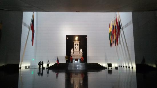 Panteón Nacional: Interior del Mausoleo