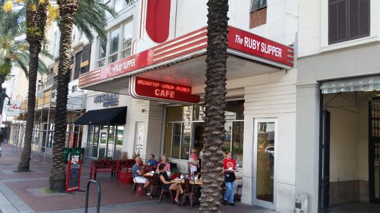 The Ruby Slipper Cafe Canal St New Orleans La