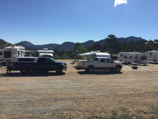 Mary's Lake Campground: We stayed in M25 full hook up