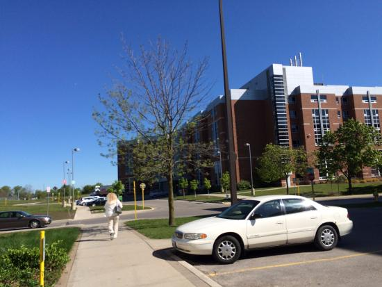 Fanshawe College Conference Services: Merlin House exterior.
