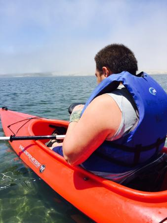 Kayak Shack: Fun Paddle to the Sandspit