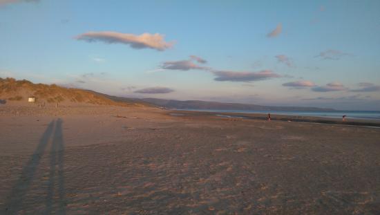 Morfa dyffryn beach