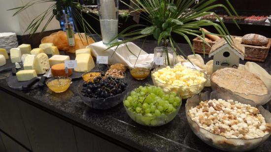 Hotel Rosengarten: Auswahl vom Buffet