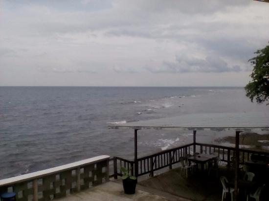 Portobelo, ปานามา: Stunning view of ocean