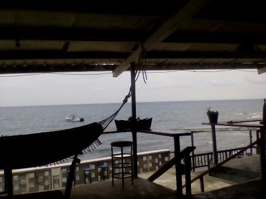 Portobelo, ปานามา: Lunch with a view