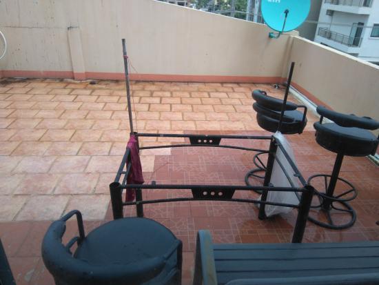 Sawasdee Mansion: La terrasse