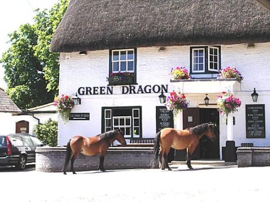 The Green Dragon: perfect spot