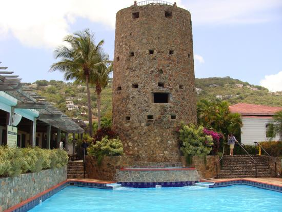 View Of Charlotte Amalie From The Tower Blackbeard S Castle St Thomas Us Virgin Islands