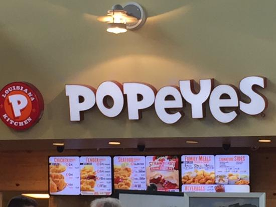 Waterfall, PA: Popeye's
