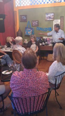 Holualoa, Hawái: Great participation with wine gurus....