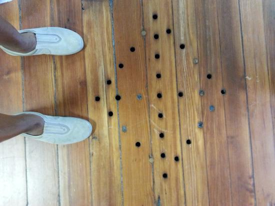 First African Baptist Church Ventilation Holes In Floor