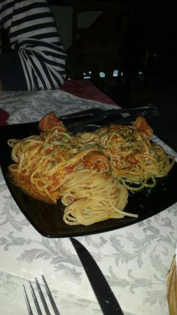 Pasta all\'astice e fritto misto - Foto di La Terrazza, Sinnai ...