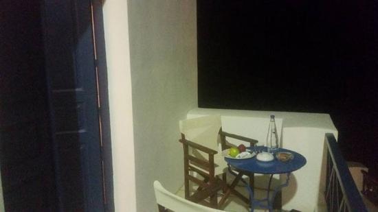 Santorini Reflexions Volcano: Private sitting area